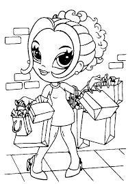 coloring pages fabulous girls coloring book coloring