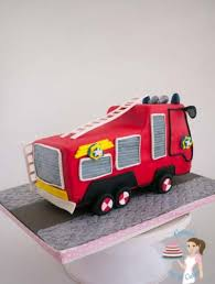 firetruck cakes how to make a truck cake tutorial veena azmanov
