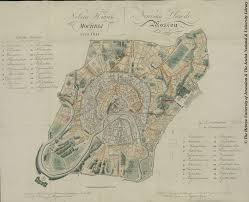 Moscow Map Map Of Moscow 1824