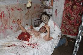 Scariest Halloween Haunted Houses In America by Razzano U0027s Fright For Hunger 2013 Watervliet Ny Slaughter House