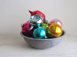 Unique Christmas Ornaments Cat Tales Of Saratoga Displaying Vintage Glass Christmas Ornaments