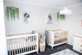 Twin Boy Nursery Decorating Ideas by Uncategorized Bedding For Twin Neutral Nursery Decorating Ideas