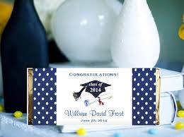 graduation party favors graduation party candy large chocolate bar wrapper favors pavia