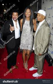 Lionel Richie Kimora Lee Simmons Russell Stock Photo 180067259