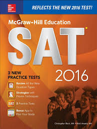 mcgraw hill education sat 2016 christopher black sat act test
