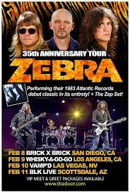 legendary rockers zebra to celebrate 35th anniversary of debut