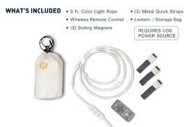 Included by Luminoodle Waterproof Led Light U0026 Lantern Power Practical