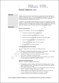 Example Of Australian Resume by Example Cvs Resumes A Before And After Case Study By Bradley Cvs Uk