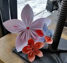 Workshops   WNYBAC WNYBAC Origami Flowers for Kids Saturday  March              pm