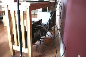 organize and hide your tv cords chica and jo