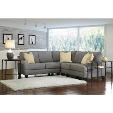 Charcoal Gray Sectional Sofa With Chaise Lounge by L Shape Fabric Retro Modern Danish Lounge Furniture Suite Chaise
