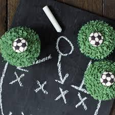 football cupcakes football cupcakes baking mad