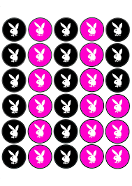 playgirl playboy cupcake disc toppers print an exploring south
