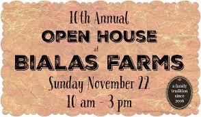 thanksgiving open house bialas farms