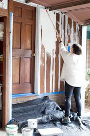 how to paint wood paneling successfully in my own style