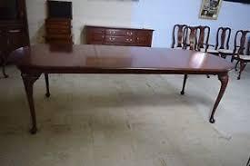 henkel harris dining table cherry queen anne model 2211 ebay