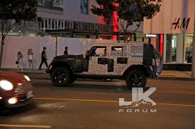 Jeep Spy Shots Jl Jeep Wrangler Five Things To Expect Jk Forum