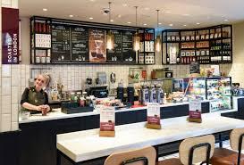 costa coffee trials new store design concept in london design week