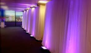 White Drape White Satin Draping Universal Stars Incorporated Limited