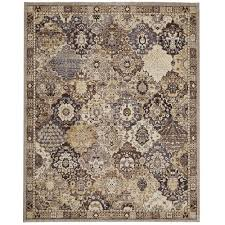Patchwork Area Rug Home Decorators Collection Patchwork Medallion Grey 8 Ft X 10 Ft