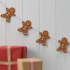 gingerbread man writing paper decorate your own gingerbread man wooden gingerbread man christmas hanging bunting