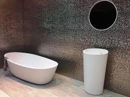 bathroom unique bathroom sink vanity with round vanity mirror and