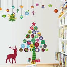 Awesome Wall Decor by Christmas Wall Decorations Awesome Wall Decorating Ideas For