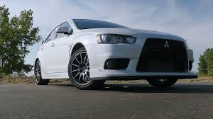 mitsubishi evolution 2018 mitsubishi saves the best lancer evolution for last