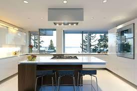 kitchen restoration hardware carmel barstool in modern kitchen