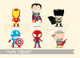 superhero baby clipart super cute