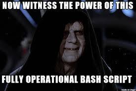 Meme Script - fully operational bash script meme on imgur