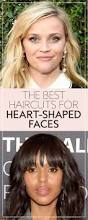 medium length hairstyles for heart shaped faces the best haircuts for heart shaped faces instyle com