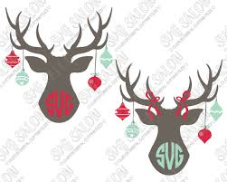 ornament monogram cut files in svg eps dxf jpeg and png