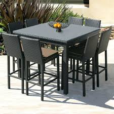 Patio Table Bar Height Ideas Bar Height Patio Sets And Medium Size Of Patio Furniture