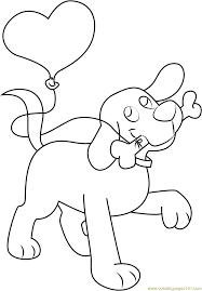 100 clifford the big red dog coloring page and the hound