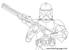 coloring page star wars star wars stormtrooper clone wars coloring pages printable