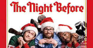 classic christmas movies the night before review an unexpected homage to classic christmas