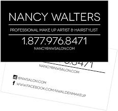 professional makeup artist business cards youprint com
