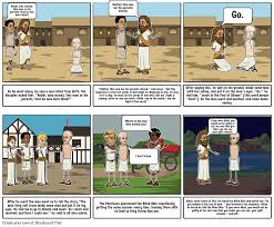 How To Go Blind Jesus Heals The Blind Man Storyboard By Itsdakotah