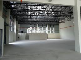 detached factory for sale at teluk gong workshop port klang for