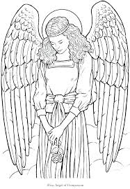 coloring page angel visits joseph coloring pages angels vibrant ideas angel coloring page beautiful