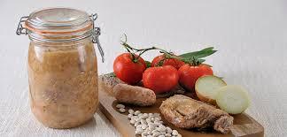 cuisiner des flageolets secs recette cassoulet en conserve le parfait