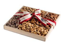 nuts gift basket the nuttery deluxe roasted salted and sweet nuts classic gift basket