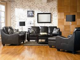 brilliant black leather living room set leather living room