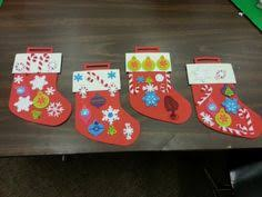 Hobby Lobby Kids Crafts - paper christmas stocking craft christmas pinterest christmas