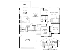 1 story house plans with walk in pantry home deco plans