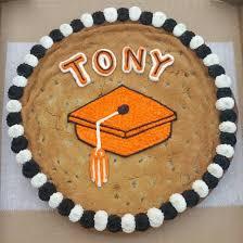 graduation cookie cake cookie cakes pinterest cake chip