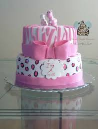 pink safari themed baby shower cake 2 tier pink safari the u2026 flickr