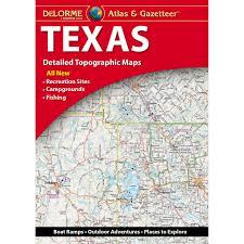 Delorme Maps Delorme Atlas U0026 Gazetteer Texas