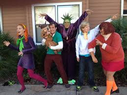 scooby doo and the gang family halloween costume toddler group